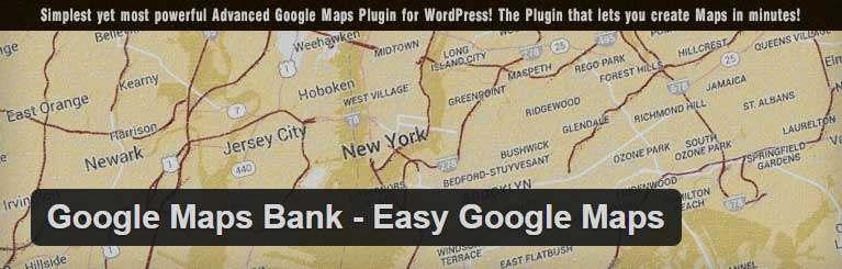 Google Map Bank WordPress Plugin