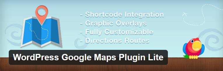WordPress Google Maps Plugin Lite