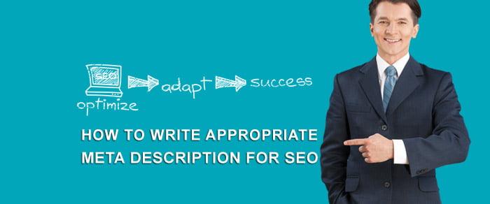 How to Write Appropriate Meta Description for SEO