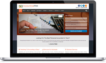 AccountingWeb – Accounting wordpress theme