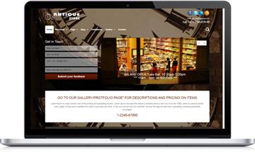 Antique Store WordPress Theme