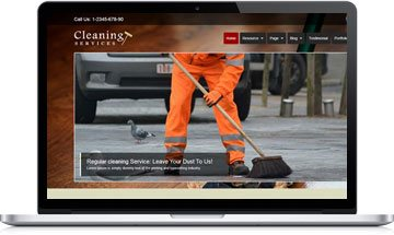 Cleaning Service WordPress Theme
