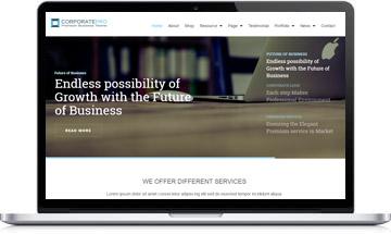 CorporatePro Business WordPress Theme