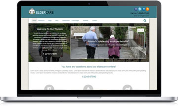 Elder Care WordPress Theme