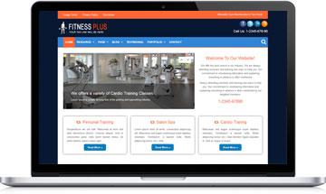 Fitness Plus WordPress Theme