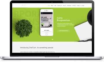 OneTouch – Multi-Purpose WordPress Theme