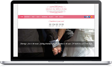 TheBond Wedding WordPress Theme