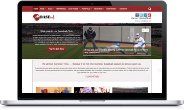 Baseball WordPress Theme