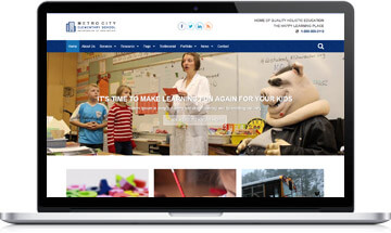Elementary School WordPress Template