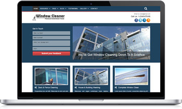 Window Cleaner WordPress Theme