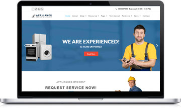 Appliance Repair – WordPress Theme