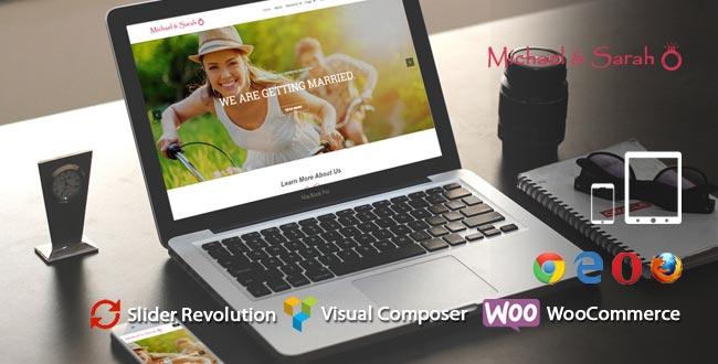 Bond – Responsive Wedding WordPress Theme   Wedding WP Template