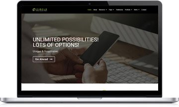 Circle Startup Business Theme