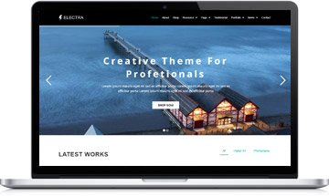 Creative WordPress Theme – Electra