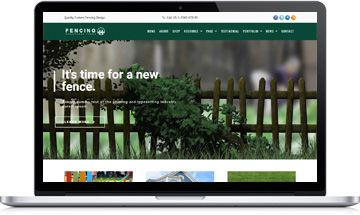 Fencing Service WordPress Theme – Fencing Website Template