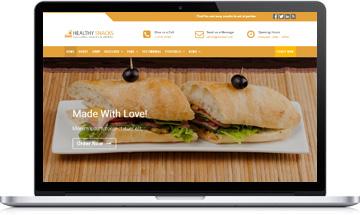 Healthy Snacks – Food & Restaurant WordPress Theme