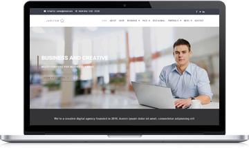 Jupiter Multi-Purpose WordPress Theme   Corporate Website Template