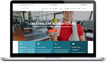 Men's Health WordPress Theme – Health & Medical Template