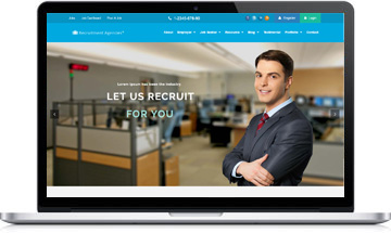 Recruitment Agencies WordPress Theme