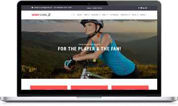 Sport Store – WooCommerce WordPress Template