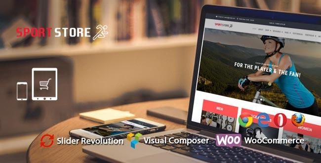 Sport Store – WooCommerce WordPress Template