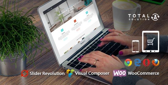 Total Multi-Purpose WordPress Theme   Corporate Website Template