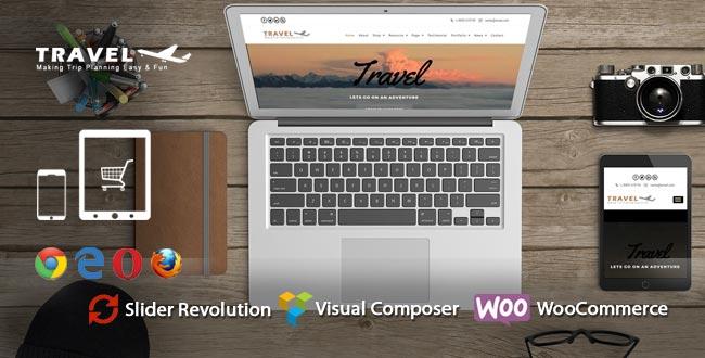 Travel WordPress Theme : Website Template For Outdoor Advanture