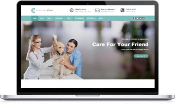 Veterinary Clinic WordPress Theme
